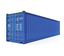 Lockable 20ft Container
